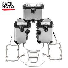 Dla BMW R1200GS R1250GS LC Pannier System boczne i górne pudełka ze stali nierdzewnej regały stalowe dla BMW GS 1200 GS LC 2014 2018