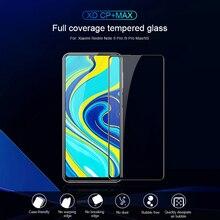 Dla Xiaomi Redmi Note 9 Pro szkło NILLKIN XD CP + MAX 2.5D pełna osłona szkło hartowane dla redmi K20/K30 Pro galss