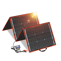 Dokio 150w Flexible Foldable Mono Solar Panel Light Portable High Power Outdoor Solar Panel China For Travel&Boat