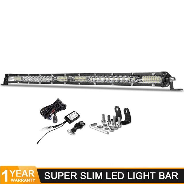 Deri barra de iluminação led para trator, 20 polegadas, 156w, inundação, combo, 4x4, offroad barco 4wd 4x4 caminhões atv luzes de trabalho