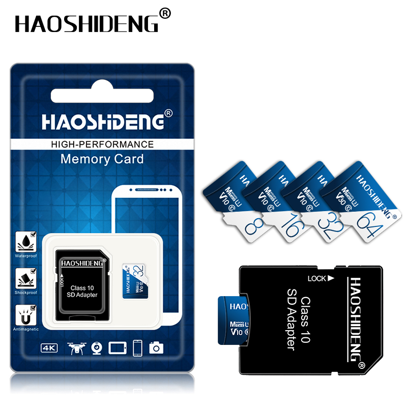 Image 5 - High quality micro sd card 32gb 64gb 128gb Class 10 cartao de memoria 8GB 16GB micro drive mini Memory card TF card flash map-in Micro SD Cards from Computer & Office