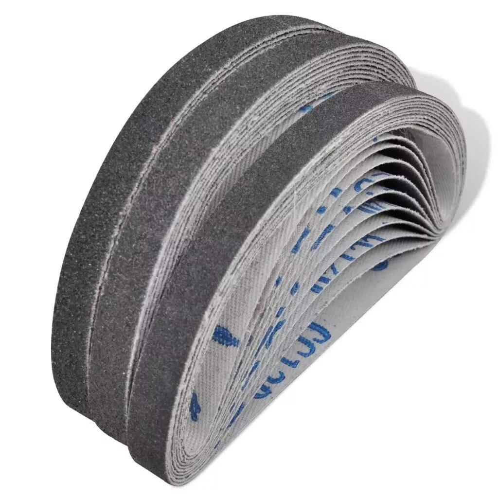 30 Pcs Airpress Pneumatic Sand Belts Sander Abrasives Sander Belt Dremel Accessories Polishing Abrasives Sand Belt V3