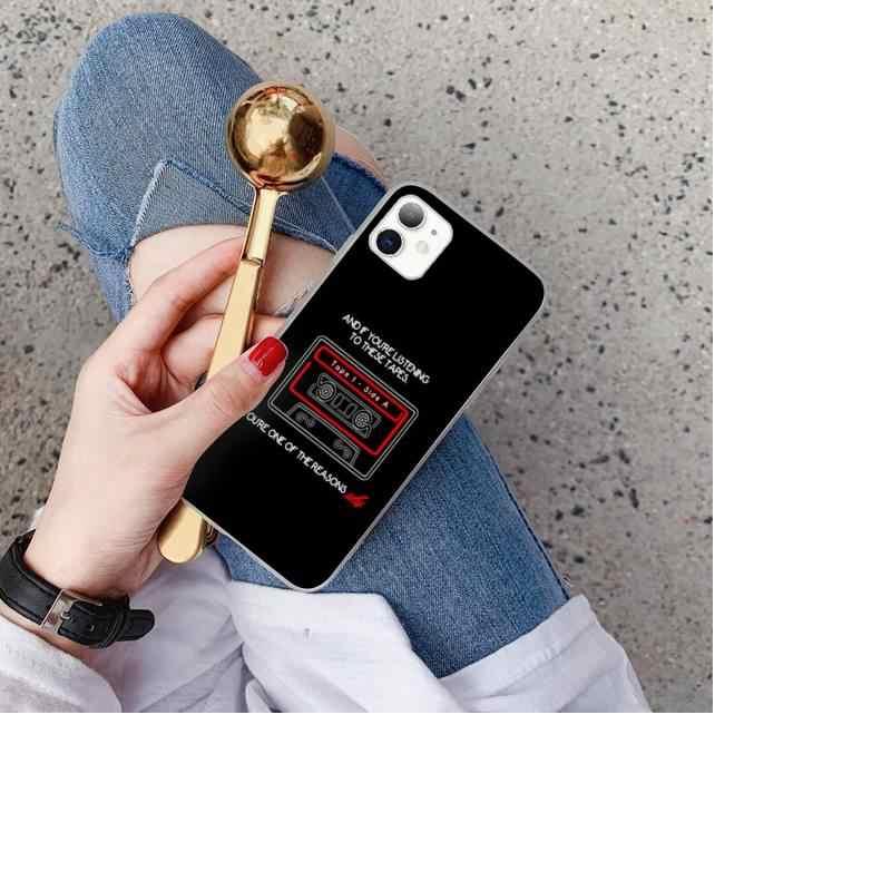 Babaite 13 Tredici Motivi Per Cui Su Misura Cassa Del Telefono Morbida Per iPhone X XS MAX 6 6s 7 7plus 8 8 più di 5 5S SE 2020 XR 11 11pro max