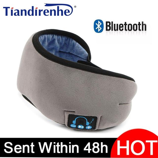 2020ผู้ผลิตไร้สายบลูทูธV5.0 CEชุดหูฟังเพลงSleep Artifact Breathable Sleep Eye MaskหูฟังDropshipping