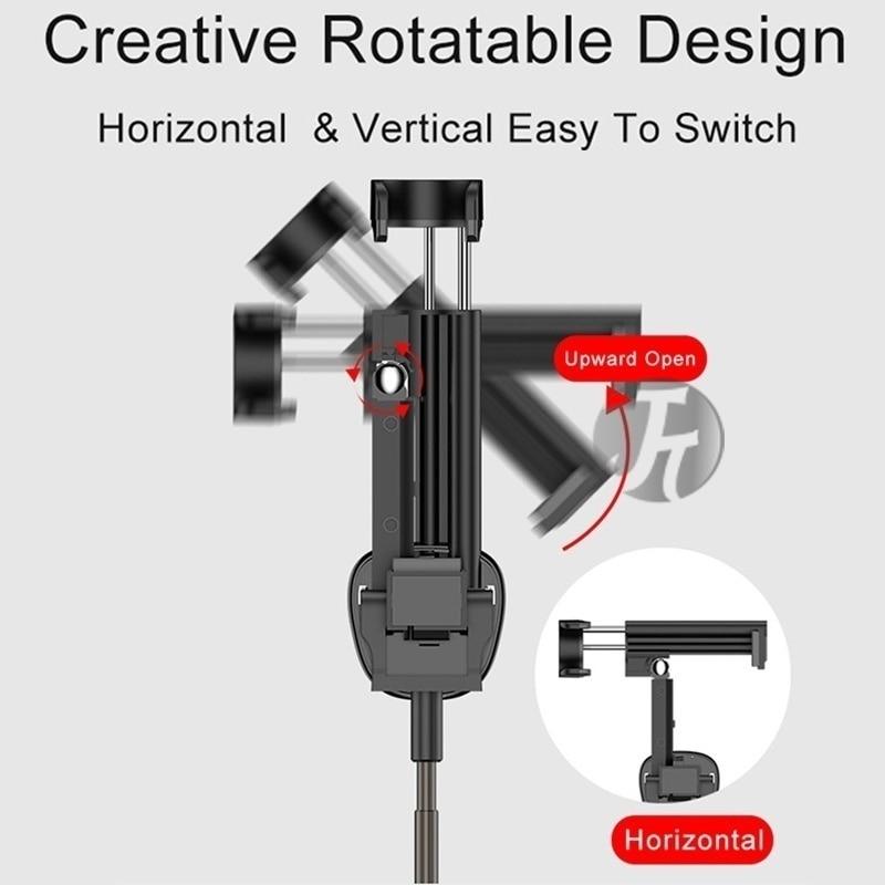 Новая беспроводная Bluetooth палка для селфи мини штатив выдвижная складная монопод для iPhone для Xiaomi Samsung Huawei телефон