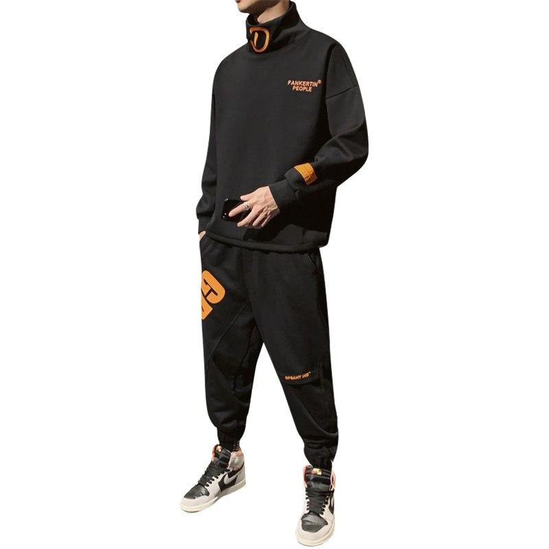 Man Tracksuit Cotton For Spring Autumn Hooded Mens Designer Tracksuits Hip Hop Tuta Sportiva Uomo Men Two Piece Set Solid HH50TZ