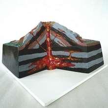 Volcano model volcanic eruption geology geomorphology geography teaching instrument