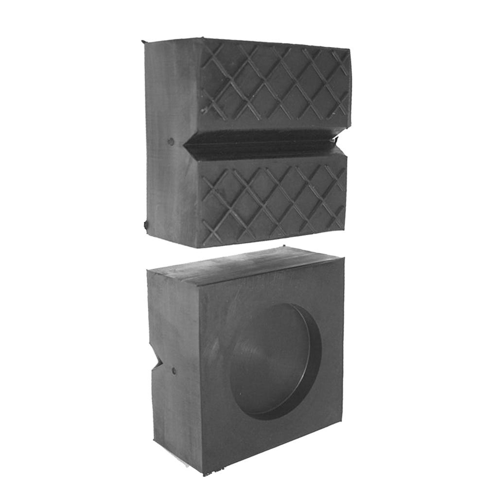 Car Rubber Jack Pad Frame Rail Protector Lift Support V-slot Block 100x100x50mm