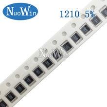 100pcs 1210 5% SMD resistor 1/2W 510R 560R 620R 680R 750R 820R 910R 1K 1.1K 1.2K 1.3K 1.5K 1.6K 510 560 620 680 750 820 910 ohm
