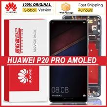 Ensemble écran tactile LCD AMOLED, 100% pouces, pour Huawei P20 Pro 6.1 CLT L09 CLT L29, CLT AL01, Original