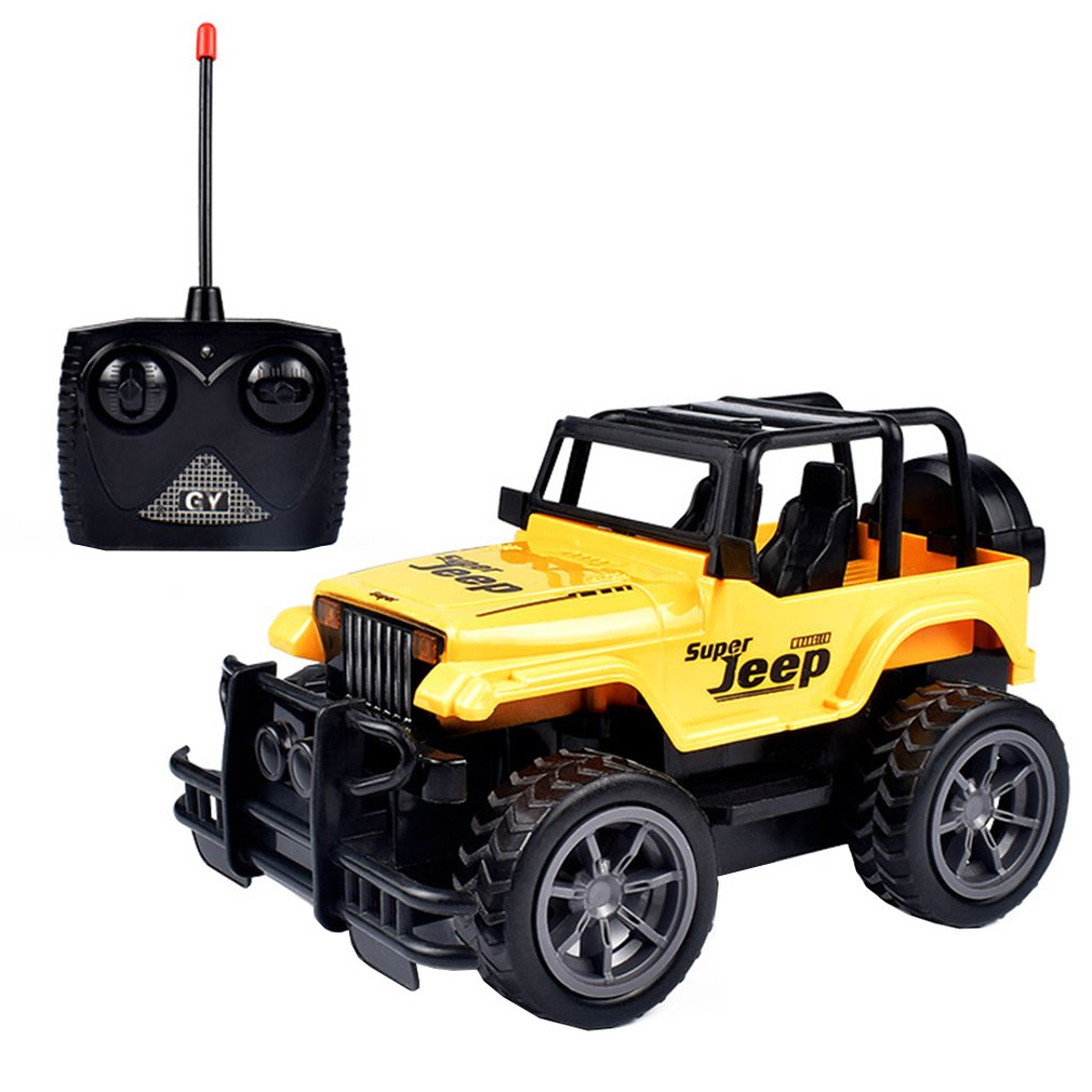 Large Wheel Remote Control Off-Road Vehicle Four-Way Remote Control Racing Car Jeep Remote Control Vehicle Children