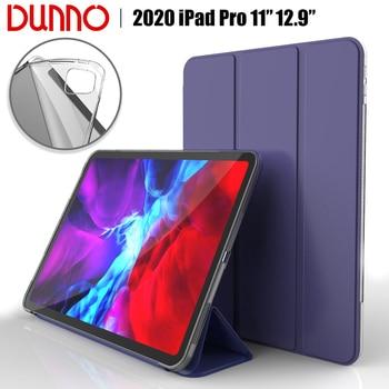 цена на New 2020 iPad Pro 11 2nd Gen iPad Pro 2020 12.9 Case For 2018 iPad Pro 11 Case Soft silicone Cover Auto Sleep/Wake Smart Case