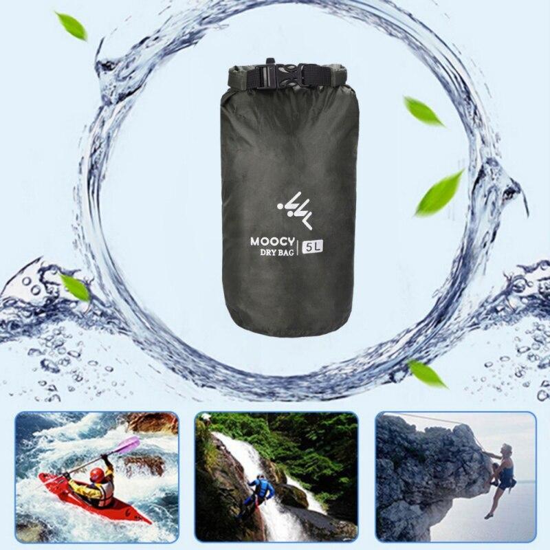 5L/20L/50L impermeable al aire libre a la deriva de Canoa kayak Rafting canotaje, natación seco organizador pesca playa bolsa de almacenamiento