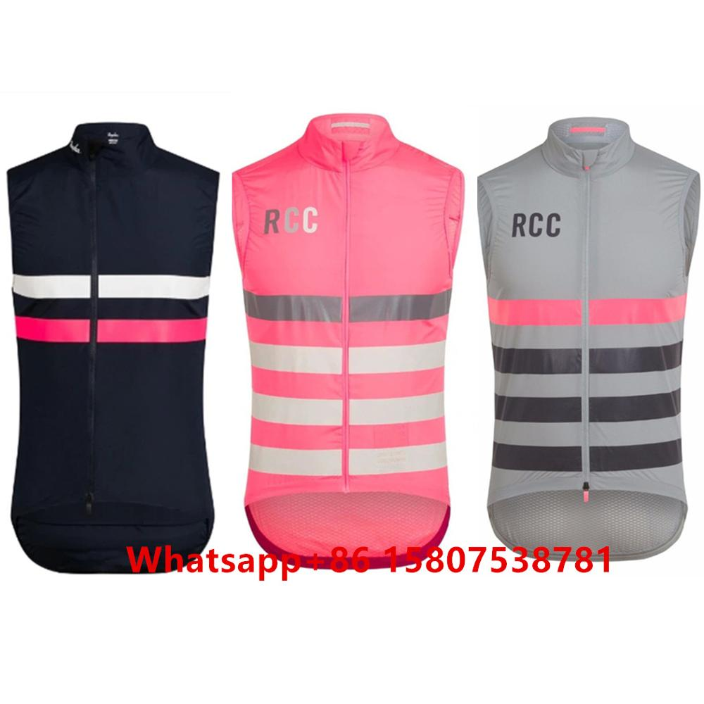 2020 Raphaing Men Sleeveless Waterproof And Windproof Cycling Jersey Vest Bicycle Lightweight Clothing Breathable Mesh Fabric