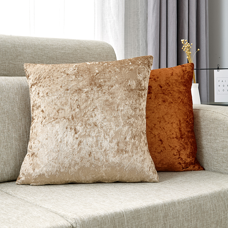 Terciopelo Funda Cojin Super Suave Cojines Decorativos Para Sofa Cojines Decorativos Para Sala Funda Cojin 45 * 45 Nórdica Decoración Del Hogar