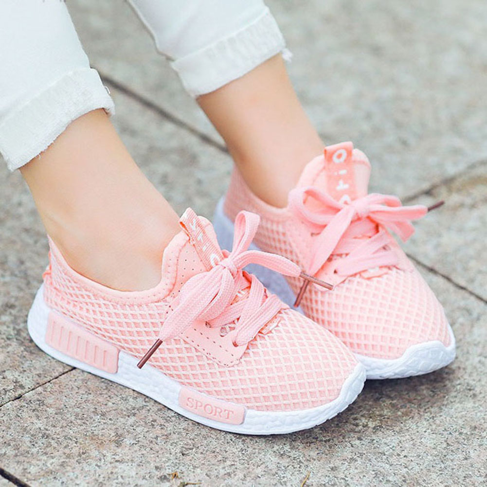 Daclay Kids Shoes Mesh Breathable Sports Running Sneakers Toddler Sneakers Shoes For Boys And Girls