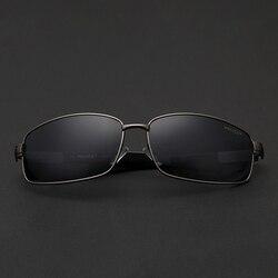 Luxus marke polizei männer sonnenbrille uv400 doppel schicht schutz film reise fahren gläser männer im freien reise sonnenbrille