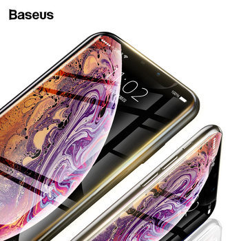 Baseus 0.23mm Screen Protector For iPhone 11 Pro Max XS Max XR X 11pro Tempered Glass Full Cover Protective Glass For iPhone11 1