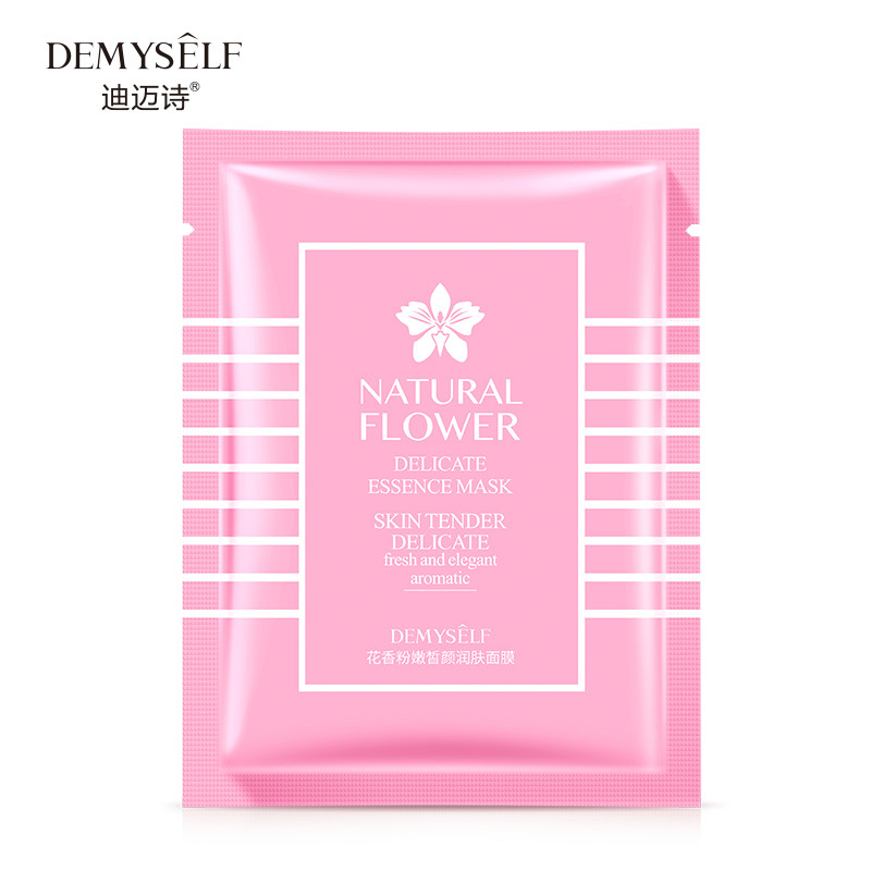 Rose Face Silk Mask Skin Care Face Mask Beauty Whitening Sheet Mask Moisturizing Oil-control Depth Replenishment Korean