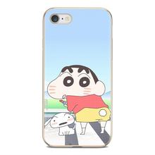 Anime crayou shin chan For LG G2 G3 G4 Mini G5 G6 G7 Q6 Q7 Q8 Q9 V10 V20 V30 X Power 2 3 Spirit Fashion Silicone Phone Case(China)