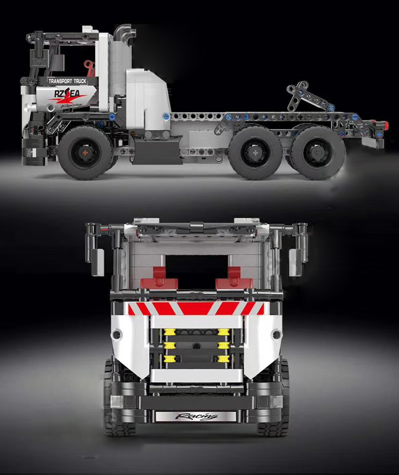MOULD KING 15005 Technic The Construction remote control truck Building Block  (532PCS) 4