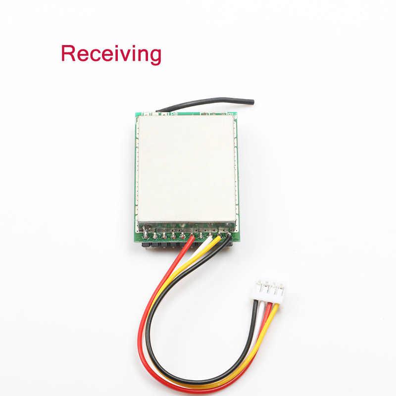 2,4G 1W Wireless Modul Kit 1000MW Audio und Video Sender & Empfänger Bord Übertragung 3,7-5 V Teile für RC FPV Drone