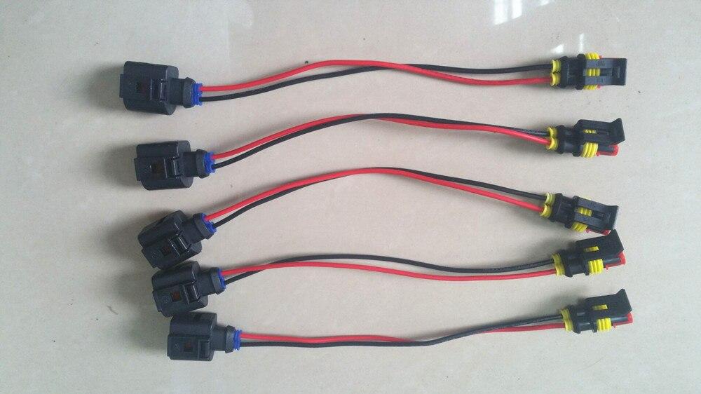 Free Shipping!  5 Pcs Connectors FOR PIEZO Common Rail Diesel Injector Nozzle,Injector Nozzle Connectors