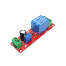 цена на NE555 Timer Switch Adjustable Module Time delay relay Module DC 12V Delay relay shield 0~10S