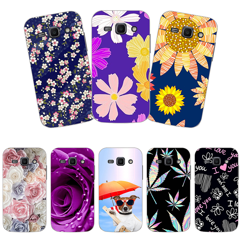 Patterned Case For <font><b>Samsung</b></font> <font><b>Galaxy</b></font> <font><b>ACE3</b></font> S7270 7270 <font><b>S7272</b></font> S7275 S7278 Flower Printed Butterfly Animal Soft Silicone Phone Case image