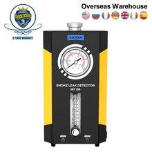 Autool SDT 206 gerador de fumaça para carros smog tester leak locator automotivo máquina de fumaça carro detector de vazamento tubo diagnóstico