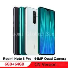 Chinese Version Xiaomi Note 8-Pro 6GB RAM 64GB ROM Mobile Ph