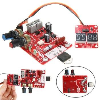 цена на New NY-D01 40A Spot Welder Machine Time Control Digital Display Controller Board Module Practical Welding Accessories