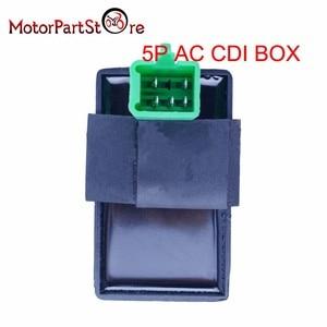Image 2 - 5 broches CDI boîte allumage une prise pour Honda XR CRF 50 70 90 110 125cc 4 temps saleté Pit Bike ATV Quad Go Kart Taotao Kazuma Sunl