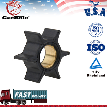 Water Pump Impeller For Mercury 30/35/40/45/50/60/65/70HP Outboard Motor Black Rubber 6 Blades Boat Engine Parts & Accessories yto ytr3105t51s ytr2105 engine parts for tractor the water pump part number