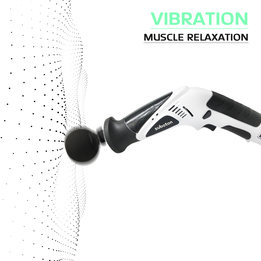 110V 240V Deep Percussion Massage Electric Massager Muscle Vibrating Relaxing Machine Therapy - 5