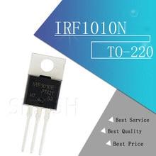 10 pçs/lote IRF1010N F1010 F1010E IRF1010E 84A 60V PARA-220