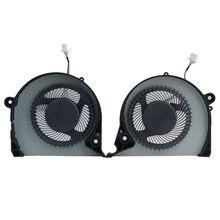 Ventilador de refrigeração portátil para dell inspiron 15-7000 15 g7 7577 cpu gpu placa gráfica ventiladores de refrigeração computador portátil dfs2000054h0t fjqs fjqt