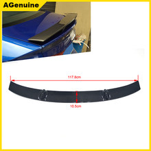 Carbon fiber GT style back boot lip spoiler wing auto rear spoiler wing trunk spoiler for Audi A3 A4 A5 A6 A7 TT R8