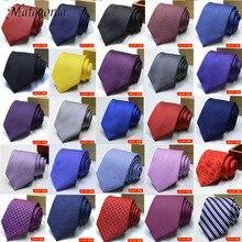 100 Styles 8cm Silk Men's Ties Stripe Flower Floral Jacquard Necktie Accessories Daily Wear Cravat Wedding Party Gift for Man