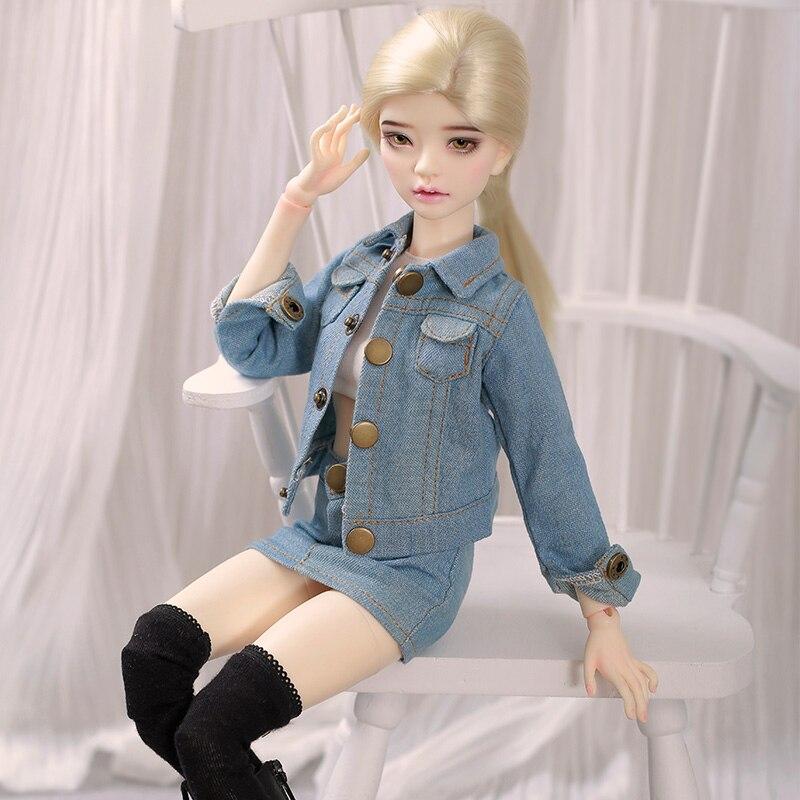 New Bjd Dolls Laura 1/4 кукла Bjd Body Jointed Resin Doll Children Toys For Girl Birthday Gift