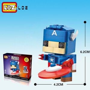 Image 4 - LOZ Qute  diamond block  cute building blocks toys bricks educational Action Figures Toys for Children