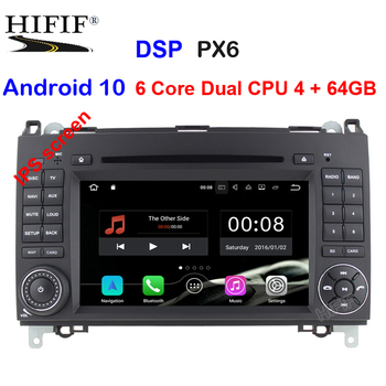 dsp 2 Din Auto Radio Android 10 For Mercedes/Benz/Sprinter/B200/B-class/W245/B170/W169 Car Multimedia Video DVD Player GPS DVR image