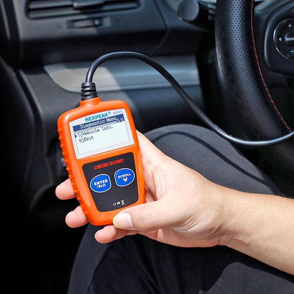 Image 5 - NX201 OBD2 スキャナーコードリーダー車 MS309 自動診断ツール OBD 2 車診断エンジンコードリーダーより良いし ELM327 OBDコードリーダー & スキャンツール   -
