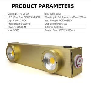 Image 2 - Светодиодсветильник лампа полного спектра с таймером, 200 Вт, Cree CXB3590
