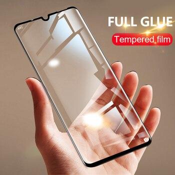 Перейти на Алиэкспресс и купить 4-1 шт полный клей для realme xt x2 pro C3 Защитное стекло для экрана закаленное для oppo Reno 2 A5 A9 2020 realme x50 6 5 pro 6i стекло
