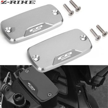 For HONDA CB 650R CB650R 2018 2019 Motorcycle Accessories Front Brake Clutch Cylinder Fluid Reservoir Cover Cap With Logo