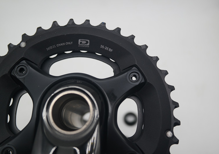 Image 2 - Shimano Deore FC M6000 crankset 20/30S speed 2/3  chainrings bicycle MTB bike  2x10 3x10S speed crank set 175/170mm crank-in Bicycle Crank & Chainwheel from Sports & Entertainment