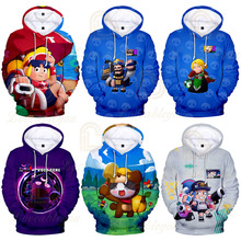 Shooting Game Kids Hoodies 3d Printed Hoodie Boys Girls Long Sleeve Men Cartoon Jacket Coat Teen Clothes