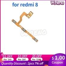 Wyieno 8A Переключатель ВКЛ/ВЫКЛ лента громкости для Redmi 8 кнопки питания гибкий кабель, сменные детали + отслеживание