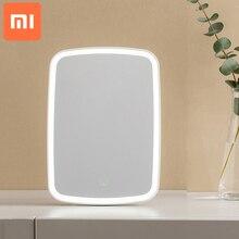 Xiaomi مرآة مكياج LED ، حساسة للمس ، ضوء طبيعي ، زاوية قابلة للتعديل ، عمر بطارية طويل